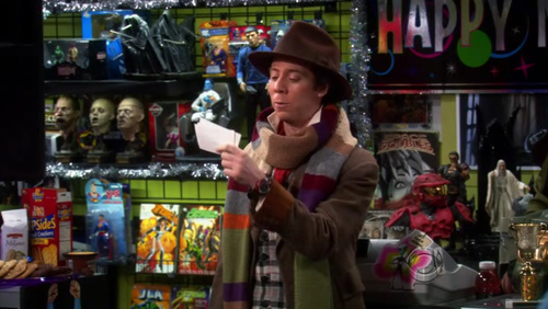 Image result for the big bang theory Sheldon 4th doctor