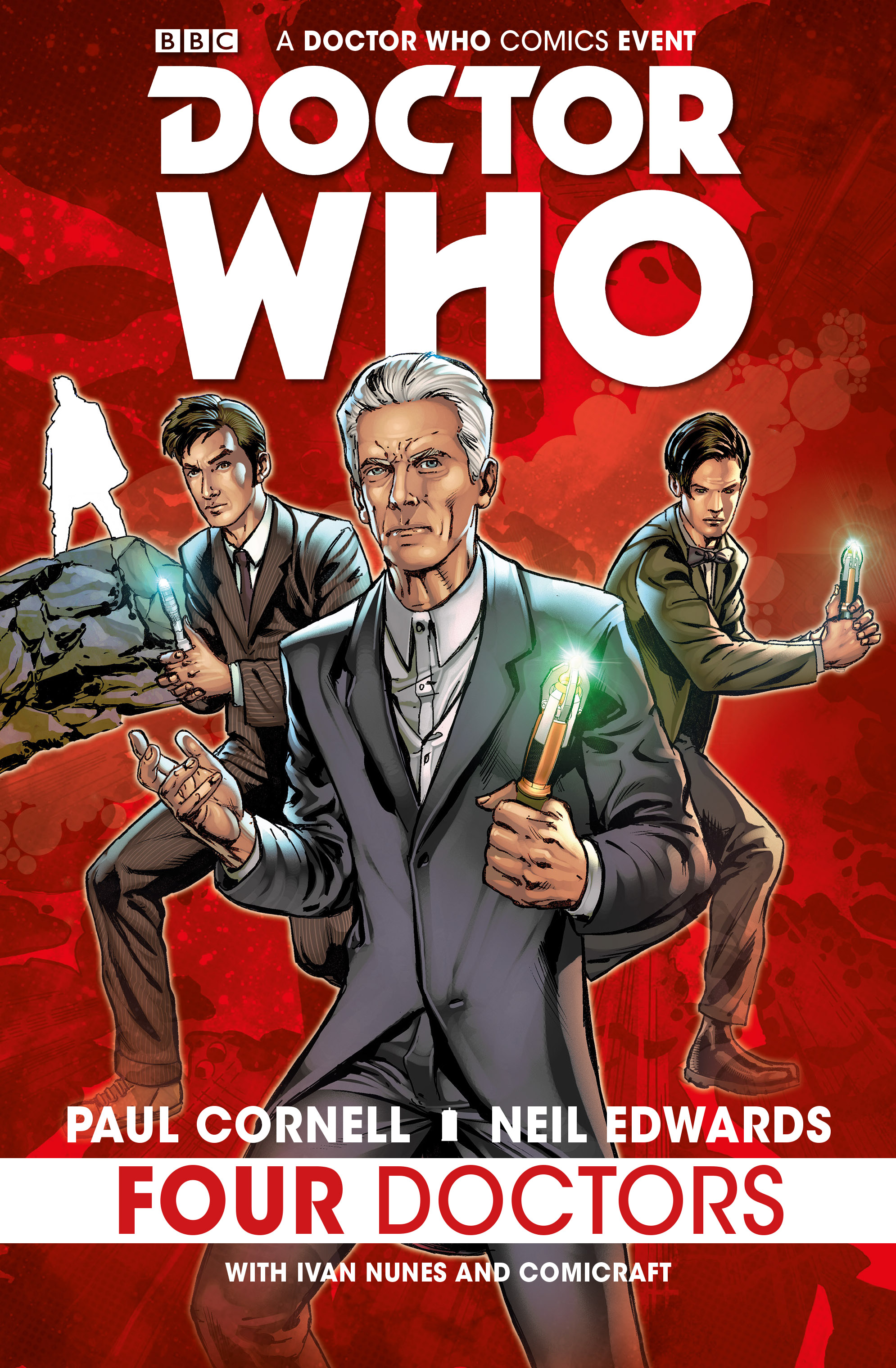 REVIEW: Doctor Who: Four Doctors Hardcover Edition - Out