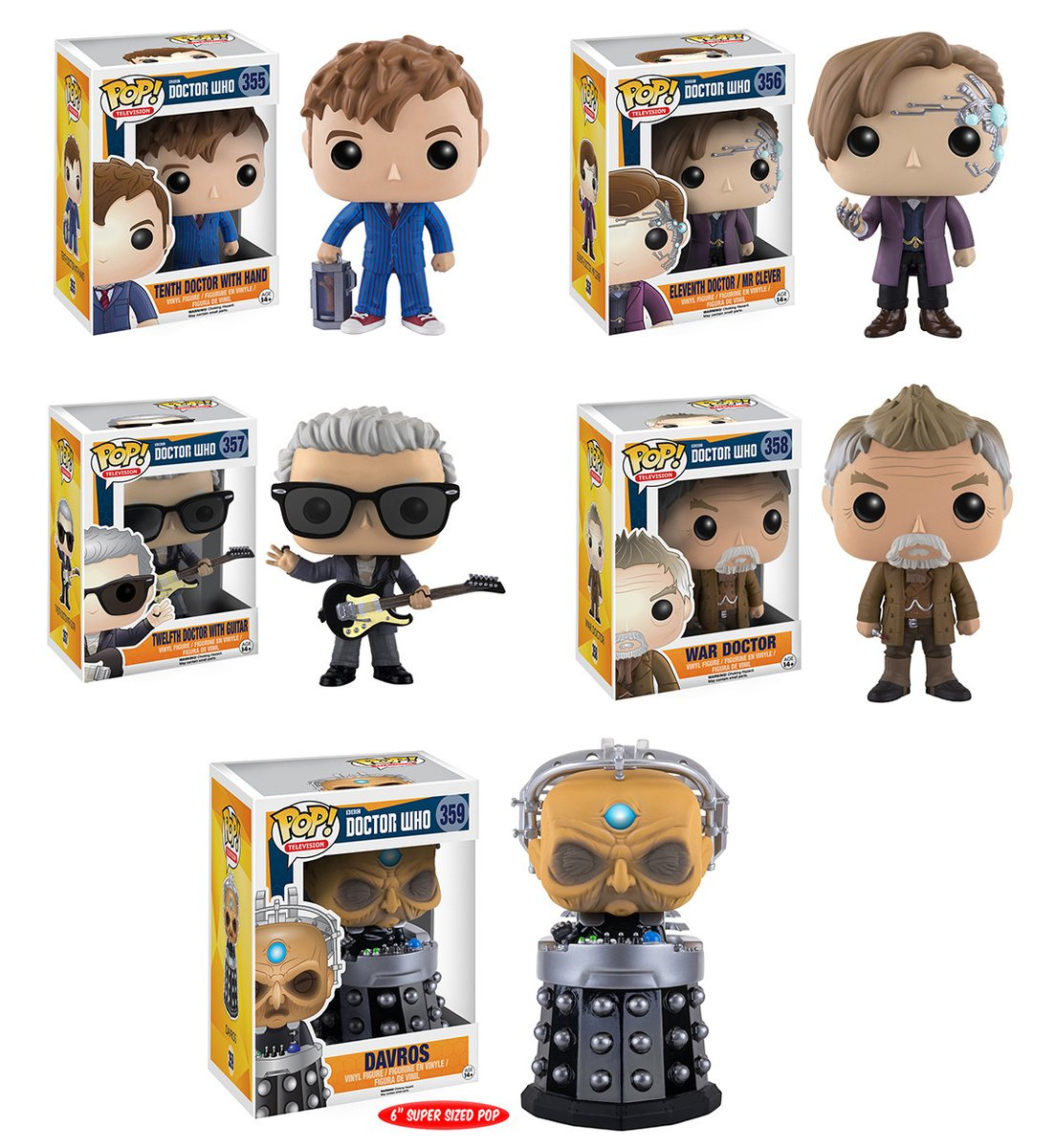 Uk New Doctor Who Funko Pop Figures Available To Buy