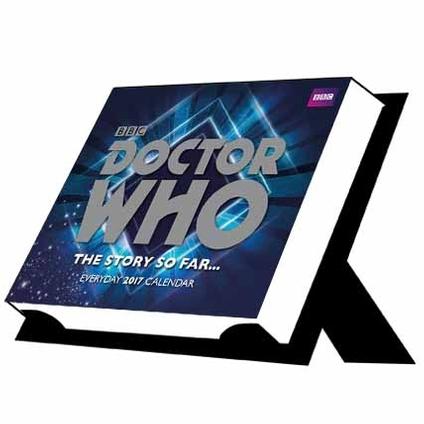 Doctor Who Official 2017 Desk Block Calendar Blogtor Who